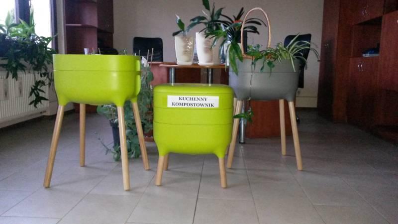 kompostownik kuchenny zielony