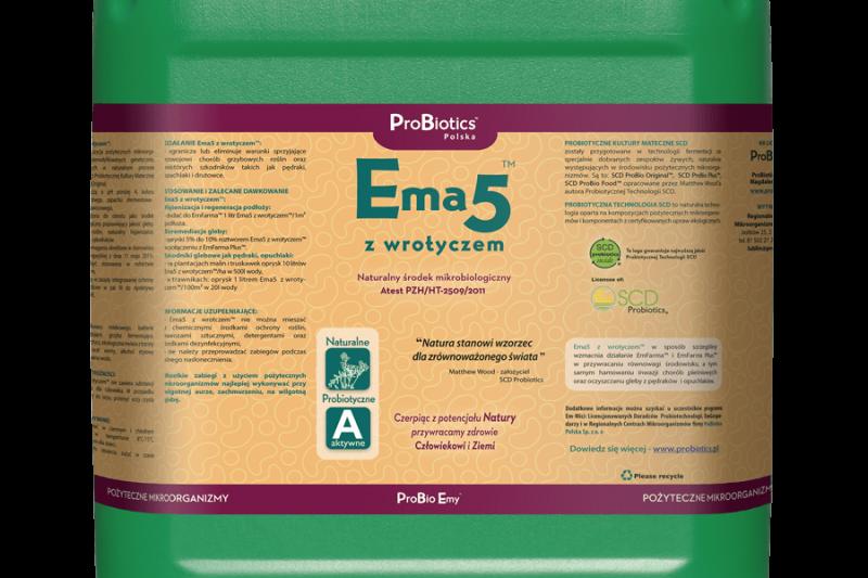 Ema5 z wrotyczem - kanister 10 litrów